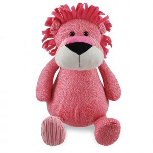 Funnies knuffel leeuw roze