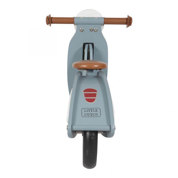 Little Dutch scooter blauw achterkant