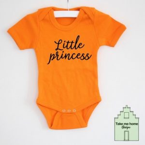 Romper met de tekst little princess