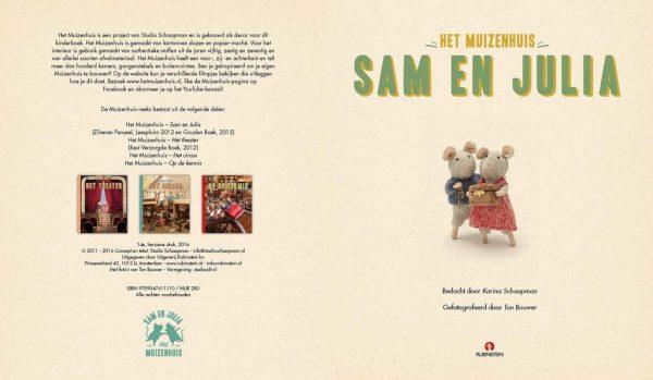 Voorleesboek Muizenhuis Sam & Julia